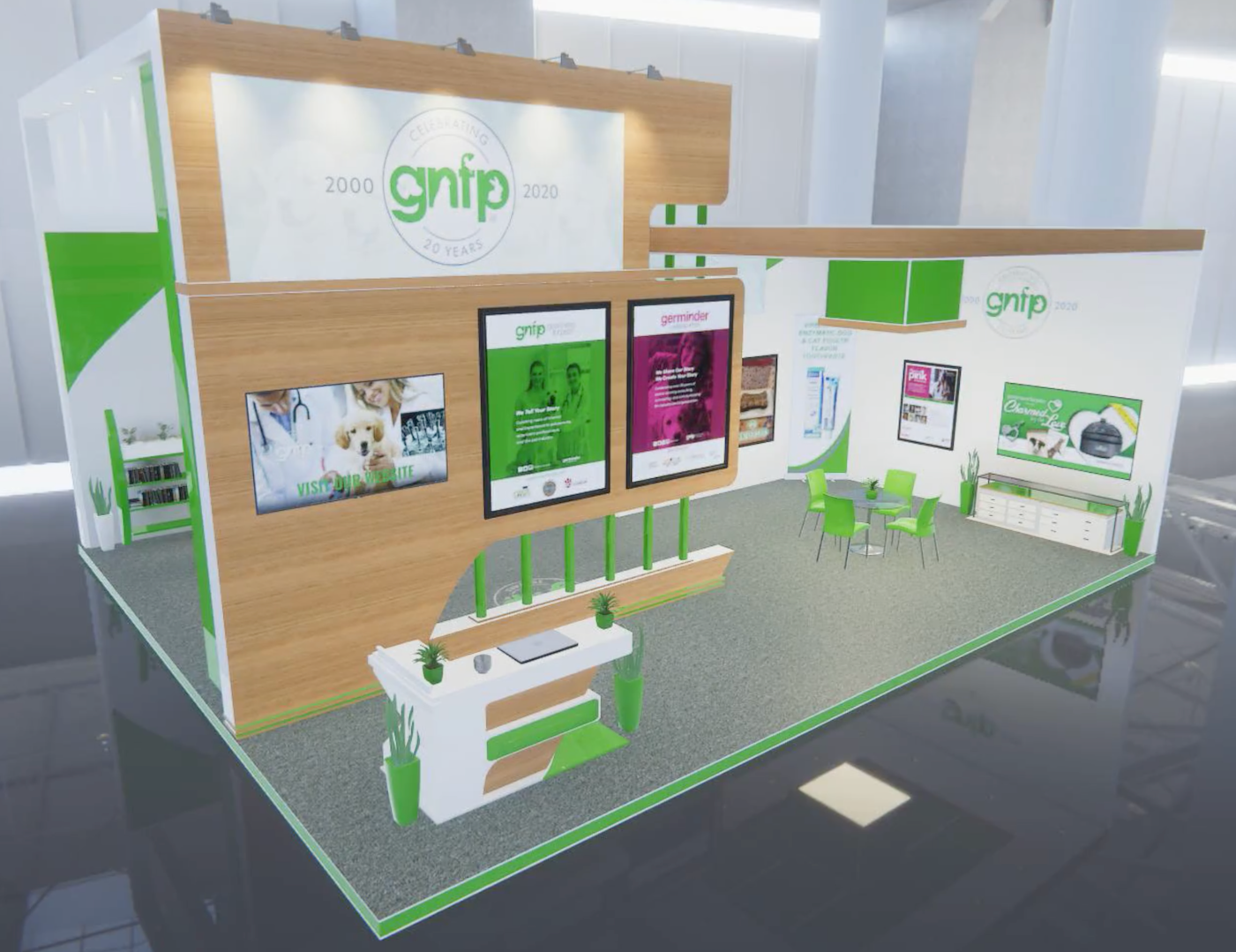 Goodnewsforpets VMX Virtual Booth